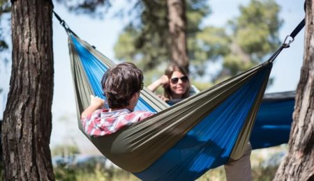 benefits of hammock camping