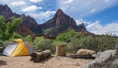how to look after the environment when camping