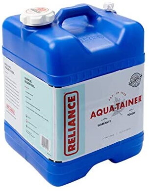 best water storage containers for camping