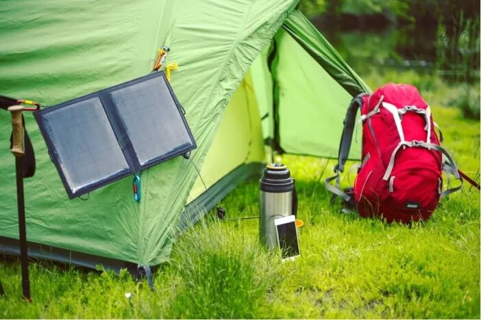 ways to charge your smartphone while camping