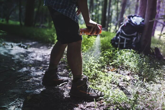 ways to keep mosquitoes away while camping