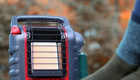 are tent heaters safe for winter camping