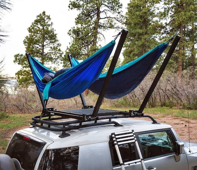 car camping hammock stand plans