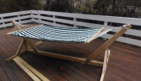 diy portable hammock stand plans for camping