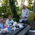 great tips for camping in a hot summer day