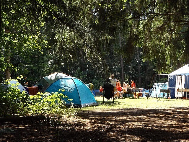 simple ways to make family camping easy and fun