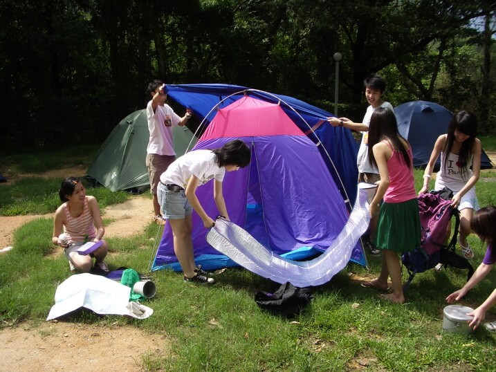 things to do when camping with family