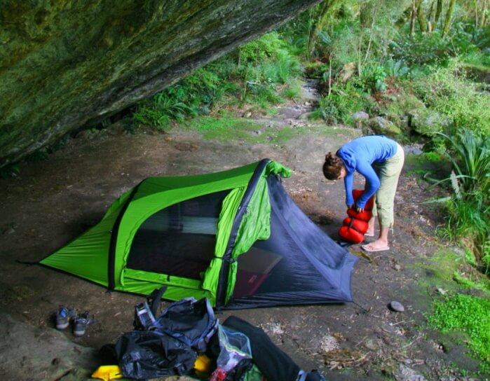 ways to make tent camping comfortable