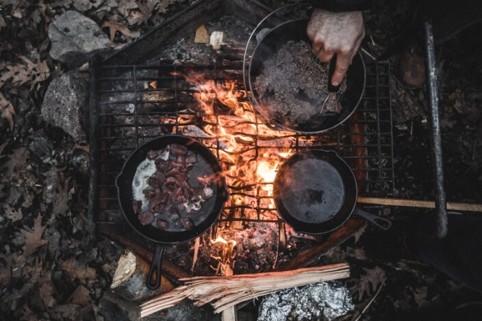 campfire cooking equipment