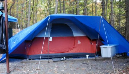 reasons to put a tarp over your tent