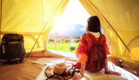 most effective ways to cool a tent without electricity